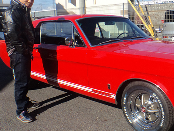 愛知県大府市 内野様 1965 Mustang Coupe
