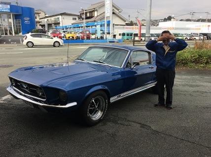 熊本県熊本市 冨田様 1967 Mustang Fastback