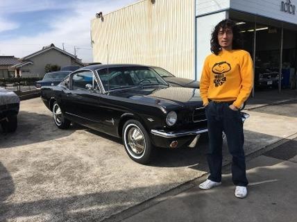 静岡県浜松市 伊藤様 1965 Mustang Fastback