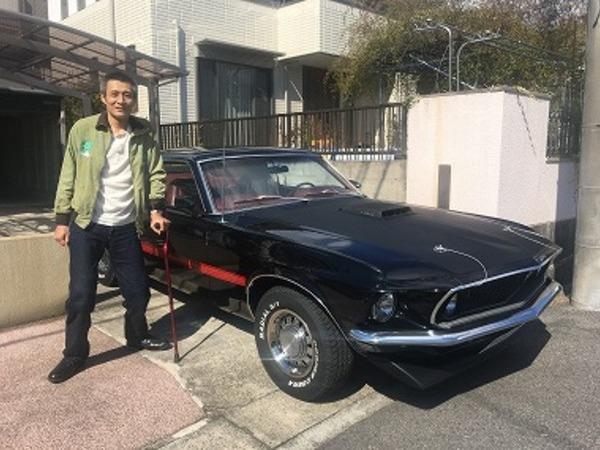 愛知県犬山市 西田様 1969 Mustang Mach1 428 SCJ