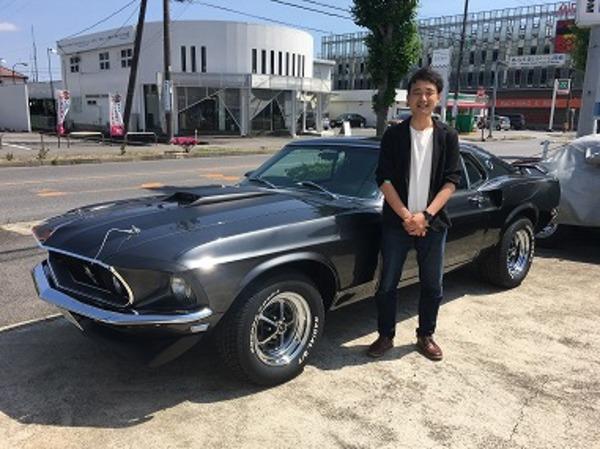千葉県東金市 田村様 1969 Mustang John Wick Cloneのサムネイル