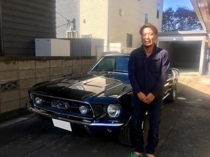 埼玉県鴻巣市 須藤様 1967 Mustang Fastback