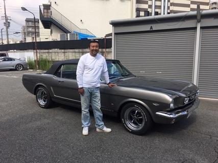 大阪府豊中市 松本様 1966 Mustang Convertible