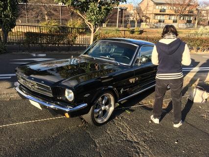 愛知県名古屋市 宇井様 1965 Mustang Fastback