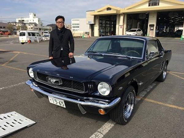 神奈川県横浜市 松澤様 1965 Mustang Coupe