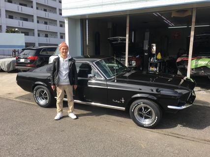 静岡県浜松市 清水様 1967 Mustang Fastback