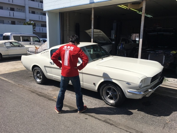 三重県四日市市 服部様 1965 Mustang Fastback