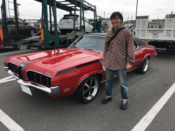 大阪府茨木市 池田様 1970 Cougar XR7