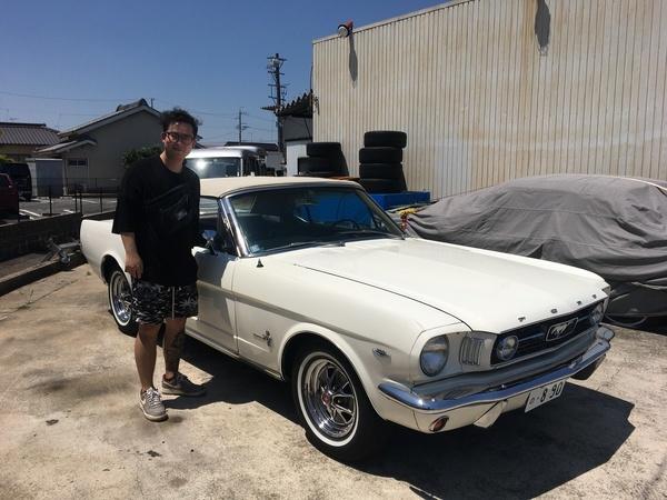 東京都新宿区 奥谷様 1966 Mustang Convertible