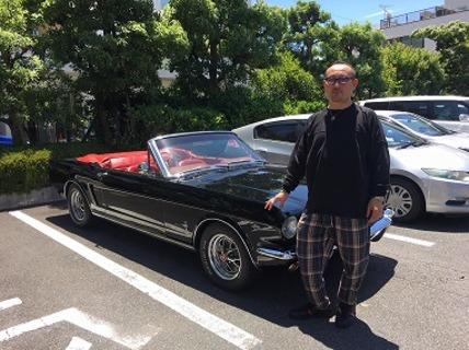 東京都渋谷区 笠原様 64 1/2 Mustang Convertible