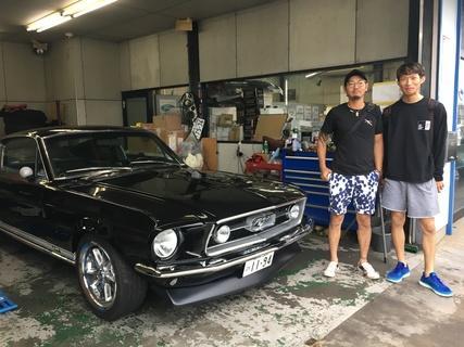 茨城県那珂郡 鈴木様 1967 Mustang Fastback