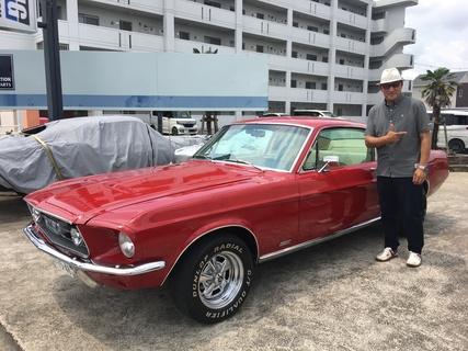 茨城県土浦市 福田様 1967 Mustang Fastback