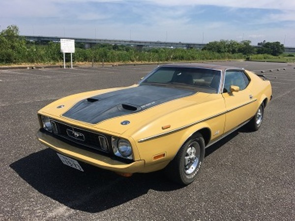 1973 Mustang Sportsroof・・・・!