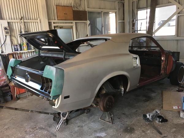 69 Mustang Sportsroof・・・・!