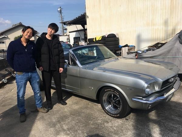 岐阜県加茂郡 福田様 1966 Mustang Convertible