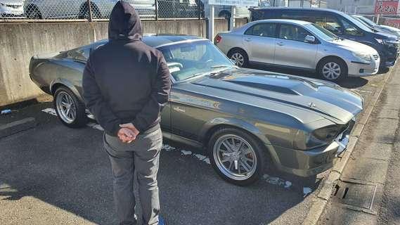 """神奈川県藤沢市 松橋様 1967 Mustang """"ELEANOR"""""""