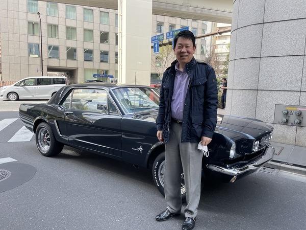 東京都渋谷区 加藤様 1965 Mustang Coupe
