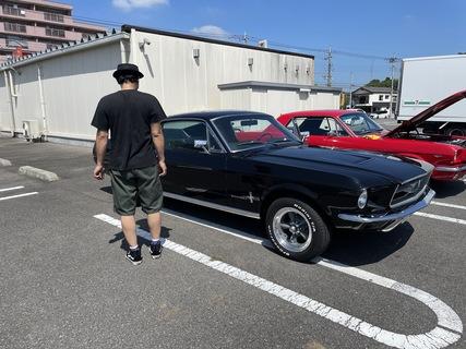 栃木県宇都宮市 目加田様 1967 Mustang Fastback